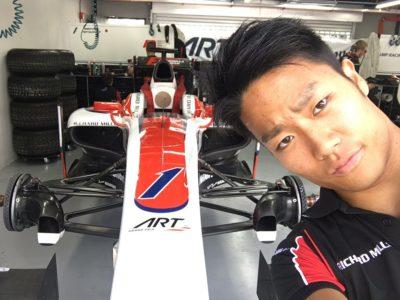 松下信治|F1への想い。両親はレーサー?経歴がヤバイ!年齢と身長は?